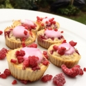 Cauliflower Raspberry Muffins