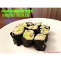 Cauliflower Rice Sushi Rolls