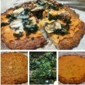 Cauliflower Sweet Potato Pizza