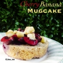 Cherry Banana Mugcake