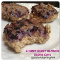 Cherry Berry Almond Scone Cups