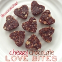 Cherry Chocolate Love Bites
