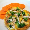 Chicken and Broccoli Frittata