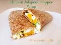 Chicken Jalapeno Popper Wrap