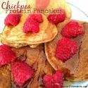 Chickpea Protein Pancakes