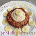 Choco-Pb-Banana Protein Pancakes