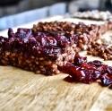 Chocobutterberry Rice Crispy Bars