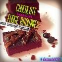 Chocolate Beetroot Fudge Brownies