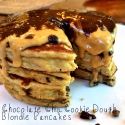 Chocolate Chip Blondie Pancakes