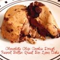 Chocolate Chip Cookie Dough Peanut Butter Quest Bar Lava Cake