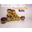 Chocolate Chip Pumpkin Pie Balls