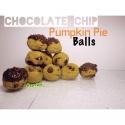 Chocolate Chip Pumpkin Pie Balls