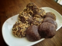 Chocolate Coconut Protein Truffles
