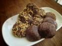 Chocolate Coconut Protein Truffles