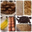 Chocolate-Covered-Banana Breakfast Bars