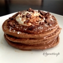 Chocolate Espresso Protein Pancakes