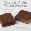 Chocolate Fudge Protein Brownies