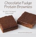 Chocolate Fudge Protein Brownies