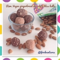 Chocolate Gingerbread Bliss Bites