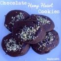 Chocolate Hemp Heart Cookies