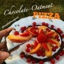 Chocolate Oatmeal Pizza Crust