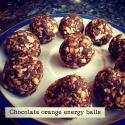 Chocolate Orange Energy Balls