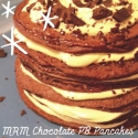 Chocolate Pb Pancakes