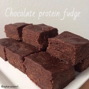 Chocolate Protein Fudge