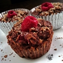 Chocolate Razz Mini Oat Bakes