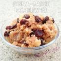 Cinna-Raisin Cashew Peanut Butter