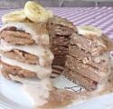 Cinnamon Banana Chai Pancakes