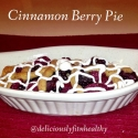 Cinnamon Berry Pie