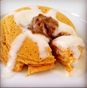 Cinnamon Roll Pumpkin Mugcake