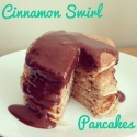 Cinnamon Swirl Protein Pancakes