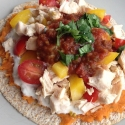 Clean Chicken Tostada