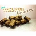 Clean Cookie Dough Brownie Bar