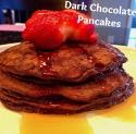 Clean Dark Chocolate Pancakes