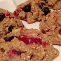 Clean Fruit and Oat Cookies