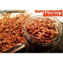 Clean Maple Cinnamon Granola