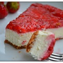 Clean Protein Strawberry Cheesecake