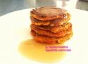 Clean Pumpkin Spice Pancakes