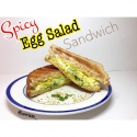 Clean Spicy Egg Salad Sandwich