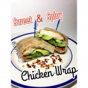 Clean Sweet & Spicy Chicken Wrap