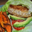 Coconut Crusted Turkey Burgers