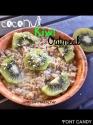 Coconut Kiwi Eggwhite Oatmeal