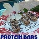 Coconut Peanut Butter Protein Bars