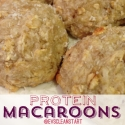 Coconut Protein Macaroons