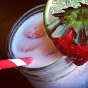 Coconut, Strawberry & Lime Refresher