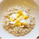 Coconutty Mango Egg White Oats