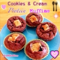 Cookies & Cream Protein Muffins